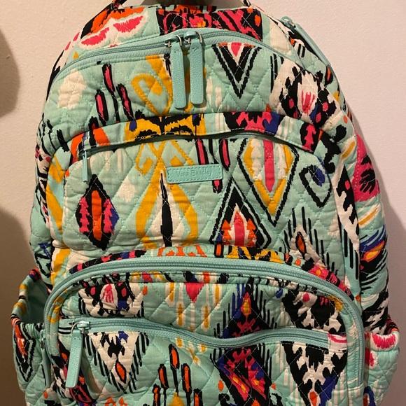Vera Bradley teal backpack